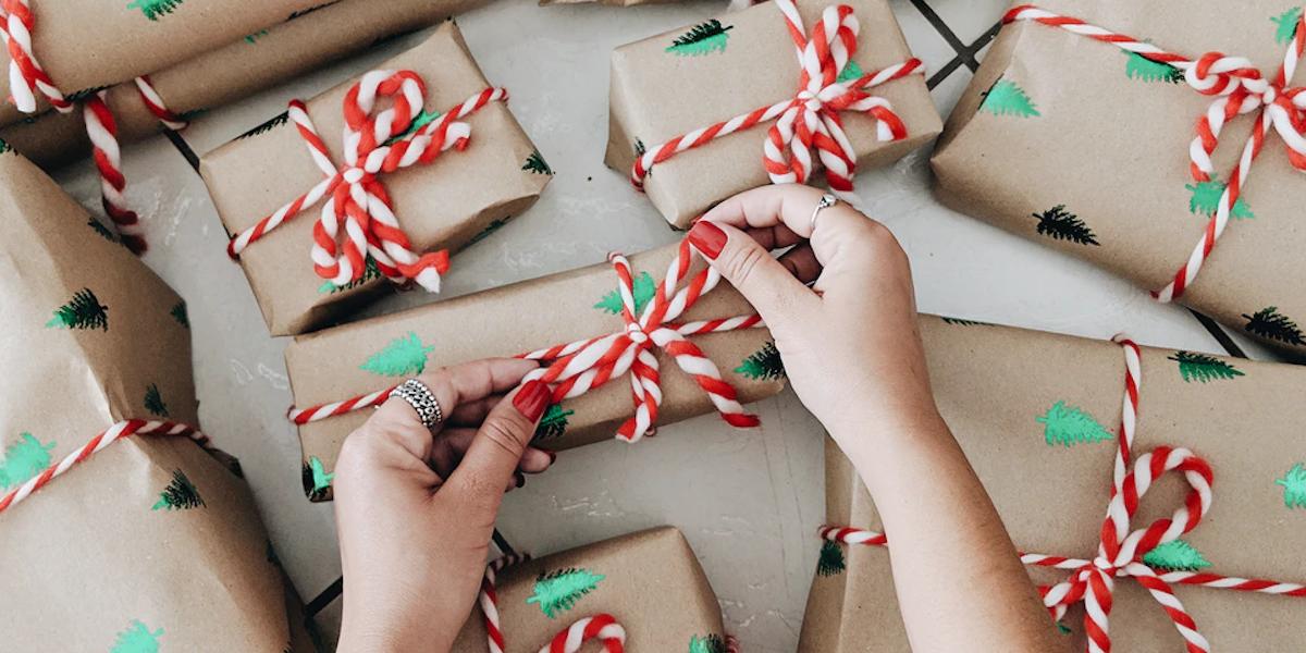 Des idées pour emballer tes cadeaux de Noël